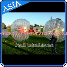 Chine Le football humain gonflable de bulle de point coloré, boule zorbing de corps, loopyball extérieur usine