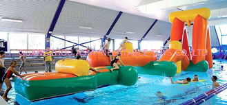 Chine Sports provocants d'Aqua gonflable, obstacles de flottement de l'eau gonflable usine