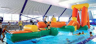 Sports provocants d'Aqua gonflable, obstacles de flottement de l'eau gonflable fournisseur