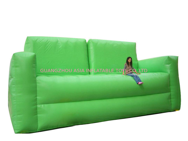 Sofa gonflable vert mou de chaise pour l 39 usage de maisons for Chaise gonflable