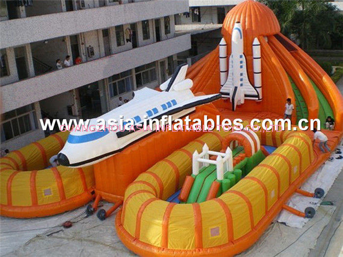 Durable Inflatable Playground With Inflatable Slide Games For Chilren Amusement