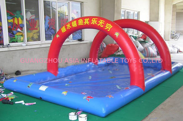 sale  high quality kids inflatable pool with arch for advertising or events